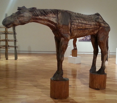 Stephen King sculpture art and the land Annabelle josse
